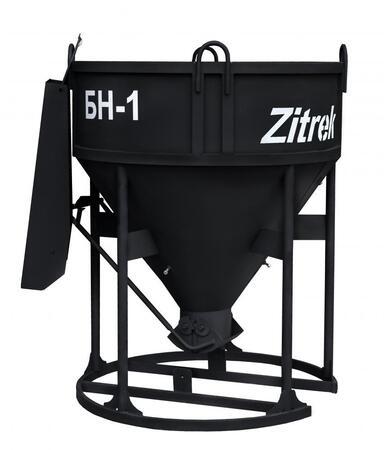 Бадья для бетона Zitrek БН-1.0 (лоток) 021-1060