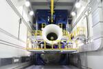 На новом стенде начаты испытания первого серийного авиационного двигателя ПД-14