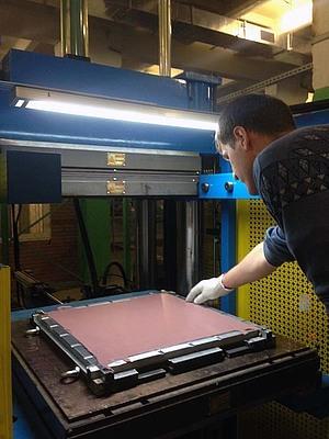 Высокая плотность Nowelle® обеспечит высокий уровень виброизоляции оборудования на «106 ЭОМЗ»