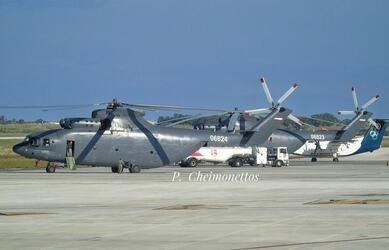 Иордания получила два завершающих тяжелых транспортных вертолета Ми-26Т2