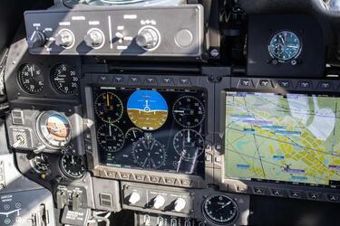 Концерн «КРЭТ» представил новый навигационно-плановый командный индикатор для гражданских вертолетов