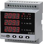 Мультиметр трехфазный на DIN-рейку Omix D4-M-3-0.5