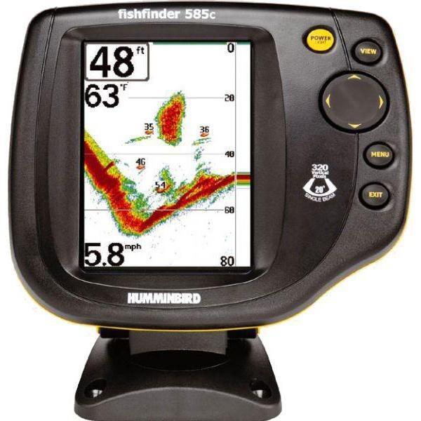 humminbird 535 fishfinder инструкция