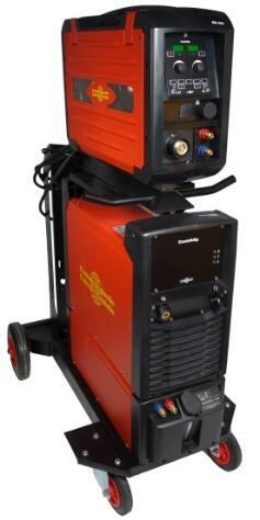 Инверторный сварочный полуавтомат с отдельным подающим механизмом CastoMig 5000DS