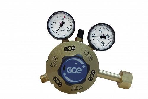 Редуктор двухступенчатый кислородный GCE Multistage RG S2 О2
