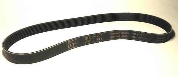 Ремень 711 J8 для бетономешалок Agrimotor, Zitrek, Вектор БРС
